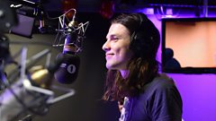 James Bay plays with Wayne Rooney and Gary Neville! No, not footie...