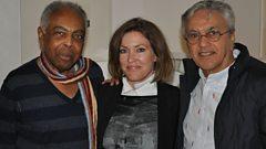Cerys with Gilberto Gil & Caetano Veloso