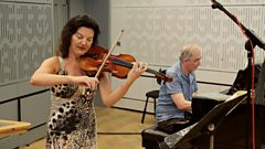 Tasmin Little plays a recently discovered William Lloyd Webber piece live on In Tune