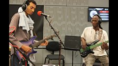 Listen to Bombino in session for World on 3
