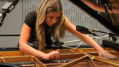 Vanessa Benelli Mosell performs Stockhausen live on In Tune