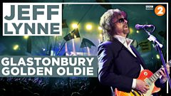 Which track has this year's Glastonbury legend, Jeff Lynne, chosen for his Golden Oldie?
