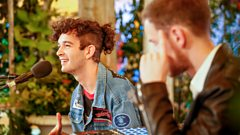 The 1975 chat about playing live at Glastonbury