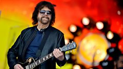 Where do you go after playing the 'legends' slot at Glastonbury? Jeff reveals all...