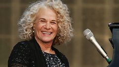 Carole King gets tearful talking about songwriting
