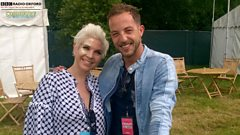 Cornbury: James Morrison talks to Kat Orman