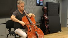 Alban Gerhardt plays one of Rostropovich's 'cute pieces' for cello live on In Tune