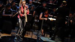Jess Gillam performs Michael Nyman's Where the Bee Dances