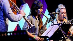 Live from Edinburgh's Big Blue Tent: the Ferio Saxophone Quartet play Bach