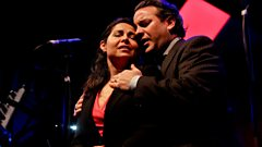 Live from Edinburgh's Big Blue Tent: Rebeca Olvera and John Osborn sing an impassioned duet from Norma