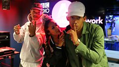Rizzle Kicks in the Studio!