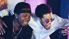 Chip premiers his new tune with Kranium