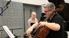 Paul and Huw Watkins play a pristine pair of Miniatures live on In Tune