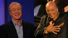 "Quincy Jones on Sir Michael Caine: ""He's my celestial twin"""