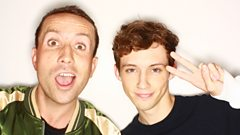 Troye Sivan dishes to Nick Grimshaw about stalking love interests and always carrying gum