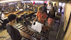 Video: The Multi-Story Orchestra perform Steve Reich's Music for a Large Ensemble