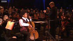 Sheku Kanneh-Mason at BBC Proms in the Park 2016