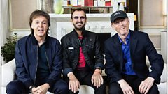 Ron, Paul & Ringo talk to Simon Mayo