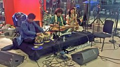 Listen to Debashish Bhattachayra in session for World on 3
