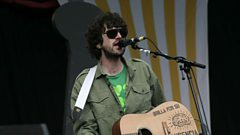 'It's was the first time food was involved with recording' - Gruff Rhys