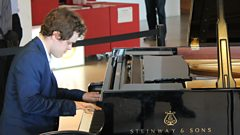 Benjamin Grosvenor shows off his nimble fingers live on In Tune from London's Southbank Centre