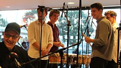 Fix Ensemble do some Drumming live on In Tune at London's Southbank Centre
