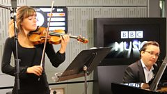 Mythical violin music from Nicola Benedetti, live on In Tune from London's Southbank Centre
