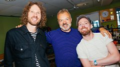Ricky and Simon from Kaiser Chiefs