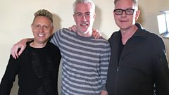 """We live normal lives"" - Martin Gore & Andy Fletcher chat with Matt Everitt"