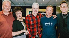 Deacon Blue in session
