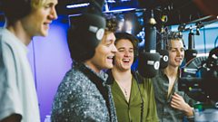 The Vamps are having the time of their lives