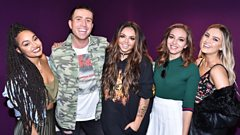 'The nerves never go when you enter that studio' - Little Mix on performing their new single live on The X Factor