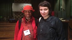Laraaji and Ela Orleans in Session