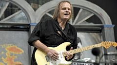 Guitar legend Walter Trout alive & kicking