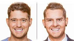 Bublé at the BBC: Michael gets a new face and goes undercover