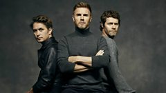 How did Chris get Take That to go up for hire for Children in Need?