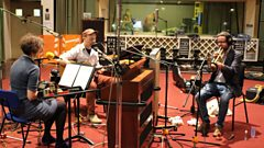 Angharad Davies, Tom Arthurs and James Yorkston's Maida Vale Session
