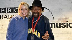 Master of Soul Geno Washington chats to Lauren Laverne