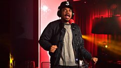 Chance the Rapper sends a prayer to Kanye West