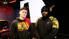 P Money in session for Logan Sama
