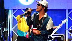 Bruno Mars is writing with Harry Styles for his solo album