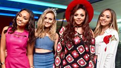 Newsbeat Ents: Little Mix's Jesy Nelson and Rixton's Jack Roche battle it out in song