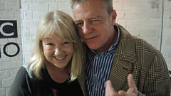 Liz was joined by Suggs