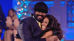 Beverley Knight and Gregory Porter perform the Christmas duet 'Mary, Did You Know' at St. John-at-Hackney Church