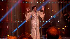 Dame Shirley Bassey performs Goldfinger
