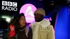 will.i.am chills with Preeya Kalidas
