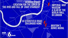 Where are we now? The Bowie Walking Tour Launches...