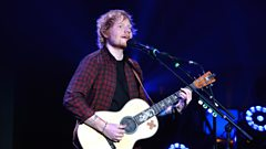 How did Ed Sheeran dig himself into a songwriting hole with Richard Curtis?