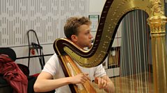 Oliver Wass performs a delightful Ravel Prelude live on In Tune