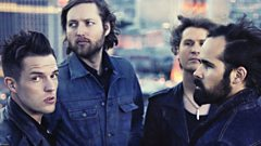 The Killers are back! Brandon Flowers calls Chris Evans live from Las Vegas